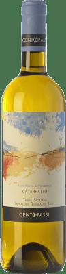17,95 € Free Shipping   White wine Centopassi Terre Rosse di Giabbascio I.G.T. Terre Siciliane Sicily Italy Catarratto Bottle 75 cl