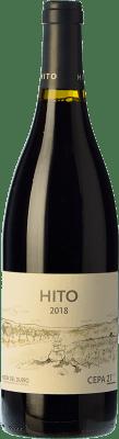 26,95 € Free Shipping | Red wine Cepa 21 Hito Joven D.O. Ribera del Duero Castilla y León Spain Tempranillo Bottle 75 cl