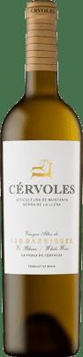 24,95 € Envío gratis | Vino blanco Cérvoles Blanc Crianza D.O. Costers del Segre Cataluña España Macabeo, Chardonnay Botella 75 cl