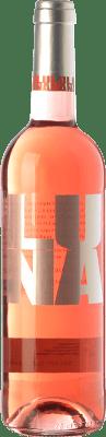7,95 € Kostenloser Versand | Rosé-Wein César Príncipe Clarete de Luna Joven D.O. Cigales Kastilien und León Spanien Tempranillo, Grenache, Albillo, Verdejo Flasche 75 cl