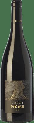 29,95 € Free Shipping | Red wine Cesconi Pivier I.G.T. Vigneti delle Dolomiti Trentino Italy Merlot Bottle 75 cl