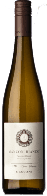 17,95 € Free Shipping | White wine Cesconi Selezione Et. Vigneto I.G.T. Vigneti delle Dolomiti Trentino Italy Manzoni Bianco Bottle 75 cl
