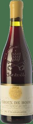 79,95 € Free Shipping | Red wine Chapoutier Croix de Bois Crianza A.O.C. Châteauneuf-du-Pape Rhône France Grenache Bottle 75 cl