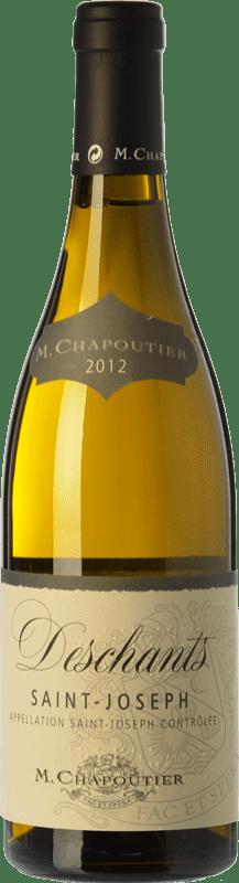 28,95 € Free Shipping | White wine Chapoutier Deschants Blanc Crianza A.O.C. Saint-Joseph Rhône France Marsanne Bottle 75 cl