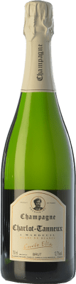 42,95 € Free Shipping | White sparkling Charlot-Tanneux Cuvée Élia Blanc de Blancs 2010 A.O.C. Champagne Champagne France Chardonnay Bottle 75 cl. | Thousands of wine lovers trust us to get the best price guarantee, free shipping always and hassle-free shopping and returns.