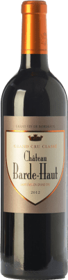 51,95 € Free Shipping | Red wine Château Barde-Haut Crianza A.O.C. Saint-Émilion Grand Cru Bordeaux France Merlot, Cabernet Franc Bottle 75 cl