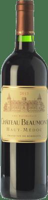 17,95 € Envío gratis | Vino tinto Château Beaumont Crianza A.O.C. Haut-Médoc Burdeos Francia Merlot, Cabernet Sauvignon Botella 75 cl