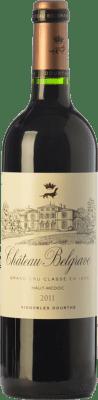 51,95 € Free Shipping | Red wine Château Belgrave Crianza A.O.C. Haut-Médoc Bordeaux France Merlot, Cabernet Sauvignon, Cabernet Franc Bottle 75 cl