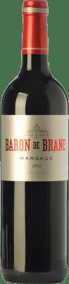 39,95 € Free Shipping | Red wine Château Brane Cantenac Baron de Brane Crianza A.O.C. Margaux Bordeaux France Merlot, Cabernet Sauvignon, Cabernet Franc Bottle 75 cl
