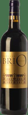 34,95 € Free Shipping | Red wine Château Cantenac-Brown Brio Crianza A.O.C. Margaux Bordeaux France Merlot, Cabernet Sauvignon, Cabernet Franc Bottle 75 cl