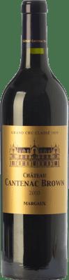 82,95 € Free Shipping | Red wine Château Cantenac-Brown Crianza A.O.C. Margaux Bordeaux France Merlot, Cabernet Sauvignon Bottle 75 cl