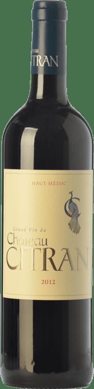 21,95 € Envoi gratuit | Vin rouge Château Citran Crianza A.O.C. Haut-Médoc Bordeaux France Merlot, Cabernet Sauvignon, Cabernet Franc Bouteille 75 cl