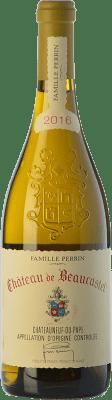 99,95 € Free Shipping | White wine Château Beaucastel Blanc Crianza A.O.C. Châteauneuf-du-Pape Rhône France Grenache White, Roussanne, Bourboulenc, Clairette Blanche, Picardan Bottle 75 cl