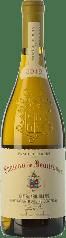 87,95 € Free Shipping   White wine Château Beaucastel Blanc Crianza A.O.C. Châteauneuf-du-Pape Rhône France Grenache White, Roussanne, Bourboulenc, Clairette Blanche, Picardan Bottle 75 cl