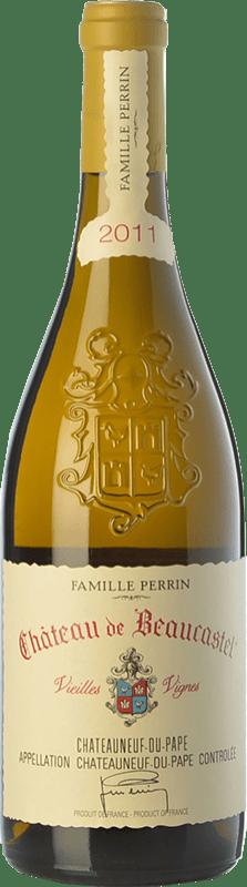 199,95 € Free Shipping   White wine Château Beaucastel Vieilles Vignes Crianza A.O.C. Châteauneuf-du-Pape Rhône France Roussanne Bottle 75 cl