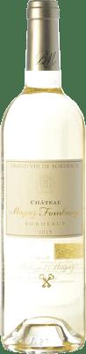 26,95 € Free Shipping | White wine Château Fombrauge Magrez Blanc Crianza A.O.C. Bordeaux Bordeaux France Sauvignon White, Sémillon, Sauvignon Grey Bottle 75 cl