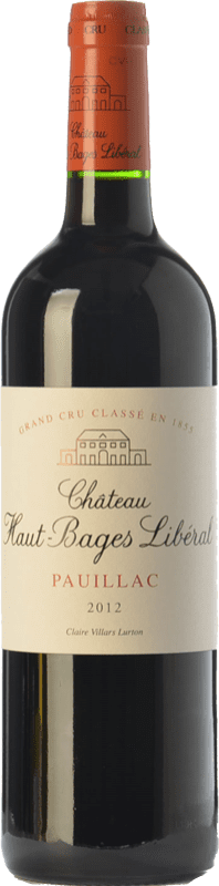 51,95 € Envoi gratuit | Vin rouge Château Haut-Bages Libéral Crianza A.O.C. Pauillac Bordeaux France Merlot, Cabernet Sauvignon Bouteille 75 cl