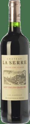 95,95 € Free Shipping   Red wine Château La Serre Crianza 2010 A.O.C. Saint-Émilion Grand Cru Bordeaux France Merlot, Cabernet Franc Bottle 75 cl