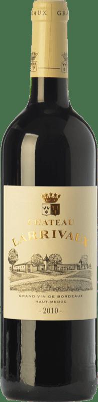 12,95 € Free Shipping | Red wine Château Larrivaux Crianza A.O.C. Haut-Médoc Bordeaux France Merlot, Cabernet Sauvignon, Cabernet Franc, Petit Verdot Bottle 75 cl