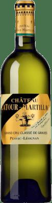 43,95 € Envío gratis | Vino blanco Château Latour-Martillac Blanc Crianza A.O.C. Pessac-Léognan Burdeos Francia Sauvignon Blanca, Sémillon Botella 75 cl