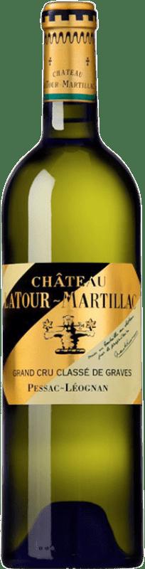 43,95 € Free Shipping | White wine Château Latour-Martillac Blanc Crianza A.O.C. Pessac-Léognan Bordeaux France Sauvignon White, Sémillon Bottle 75 cl