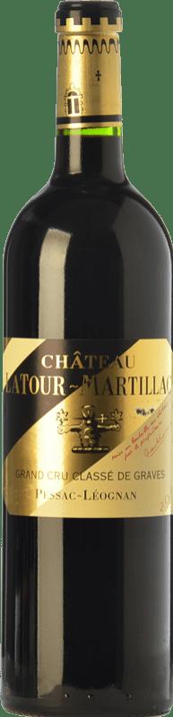 41,95 € Free Shipping | Red wine Château Latour-Martillac Reserva A.O.C. Pessac-Léognan Bordeaux France Merlot, Cabernet Sauvignon, Malbec Bottle 75 cl