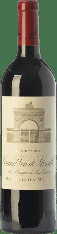 143,95 € Free Shipping   Red wine Château Léoville Las Cases Reserva A.O.C. Saint-Julien Bordeaux France Merlot, Cabernet Sauvignon, Cabernet Franc Bottle 75 cl