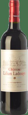 33,95 € Envoi gratuit | Vin rouge Château Lilian-Ladouys Crianza A.O.C. Saint-Estèphe Bordeaux France Merlot, Cabernet Sauvignon, Cabernet Franc, Petit Verdot Bouteille 75 cl