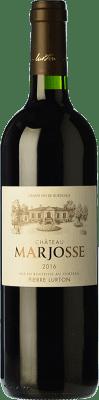14,95 € Free Shipping | Red wine Château Marjosse Crianza A.O.C. Bordeaux Bordeaux France Merlot, Cabernet Sauvignon, Cabernet Franc, Malbec Bottle 75 cl