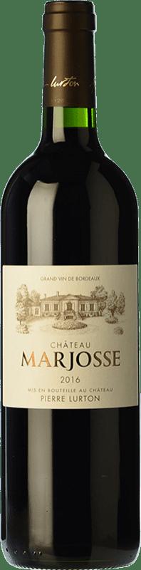 13,95 € Envoi gratuit | Vin rouge Château Marjosse Crianza A.O.C. Bordeaux Bordeaux France Merlot, Cabernet Sauvignon, Cabernet Franc, Malbec Bouteille 75 cl