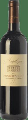 22,95 € Free Shipping | Red wine Château Monbousquet Angélique Crianza A.O.C. Saint-Émilion Grand Cru Bordeaux France Merlot, Cabernet Sauvignon, Cabernet Franc Bottle 75 cl