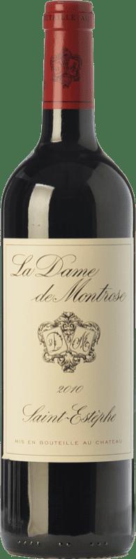 38,95 € Envío gratis | Vino tinto Château Montrose La Dame Crianza A.O.C. Saint-Estèphe Burdeos Francia Merlot, Cabernet Sauvignon Botella 75 cl