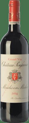 39,95 € Free Shipping | Red wine Château Poujeaux Crianza A.O.C. Moulis-en-Médoc Bordeaux France Merlot, Cabernet Sauvignon, Cabernet Franc, Petit Verdot Bottle 75 cl
