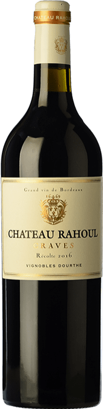 17,95 € Free Shipping | Red wine Château Rahoul Crianza A.O.C. Graves Bordeaux France Merlot, Cabernet Sauvignon Bottle 75 cl