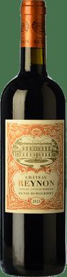 16,95 € Free Shipping | Red wine Château Reynon Crianza A.O.C. Cadillac Bordeaux France Merlot, Cabernet Sauvignon, Petit Verdot Bottle 75 cl