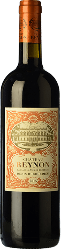 14,95 € Envoi gratuit | Vin rouge Château Reynon Crianza A.O.C. Cadillac Bordeaux France Merlot, Cabernet Sauvignon, Petit Verdot Bouteille 75 cl