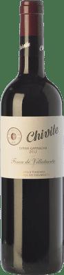 12,95 € Free Shipping | Red wine Chivite Finca de Villatuerta Syrah-Garnacha Crianza D.O. Navarra Navarre Spain Syrah, Grenache Bottle 75 cl