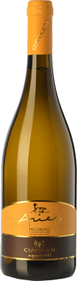 16,95 € Free Shipping | White wine Ciavolich Aries I.G.T. Colline Pescaresi Abruzzo Italy Pecorino Bottle 75 cl