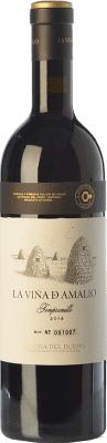 47,95 € Free Shipping | Red wine Cillar de Silos La Viña de Amalio Crianza D.O. Ribera del Duero Castilla y León Spain Tempranillo Bottle 75 cl