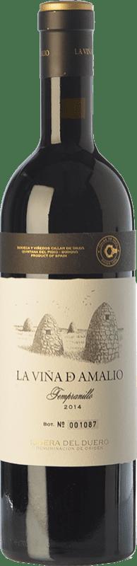 47,95 € Free Shipping   Red wine Cillar de Silos La Viña de Amalio Crianza D.O. Ribera del Duero Castilla y León Spain Tempranillo Bottle 75 cl