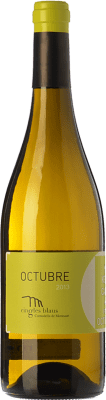 9,95 € Free Shipping | White wine Cingles Blaus Octubre Blanc D.O. Montsant Catalonia Spain Macabeo, Chardonnay Bottle 75 cl