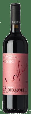 25,95 € Free Shipping | Red wine Claudio Morelli Mogliano I.G.T. Marche Marche Italy Montepulciano Bottle 75 cl