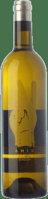 12,95 € Free Shipping | White wine Clos d'Agón Amic Blanc D.O. Catalunya Catalonia Spain Grenache White Bottle 75 cl