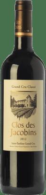 39,95 € Free Shipping | Red wine Clos des Jacobins Crianza A.O.C. Saint-Émilion Grand Cru Bordeaux France Merlot, Cabernet Sauvignon, Cabernet Franc Bottle 75 cl