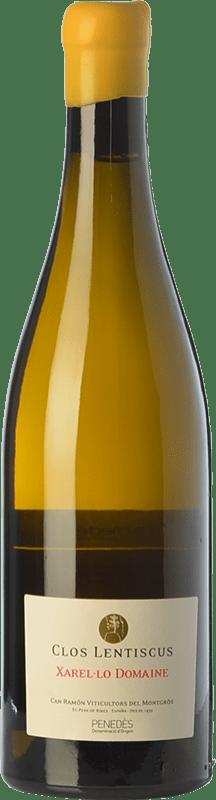 33,95 € Envoi gratuit | Vin blanc Clos Lentiscus Domaine Crianza D.O. Penedès Catalogne Espagne Xarel·lo Bouteille 75 cl
