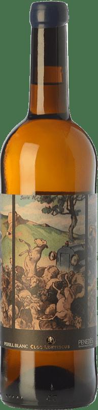 16,95 € Envoi gratuit | Vin blanc Clos Lentiscus Perill Blanc Àmfora D.O. Penedès Catalogne Espagne Xarel·lo Bouteille 75 cl