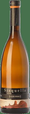 15,95 € Free Shipping | White wine Clos Pons Sisquella Crianza D.O. Costers del Segre Catalonia Spain Grenache White, Muscat of Alexandria, Albariño Bottle 75 cl
