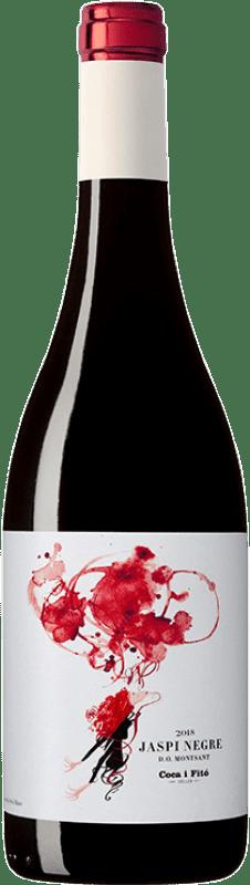 9,95 € Envoi gratuit | Vin rouge Coca i Fitó Jaspi Negre Joven D.O. Montsant Catalogne Espagne Syrah, Grenache, Cabernet Sauvignon, Carignan Bouteille 75 cl