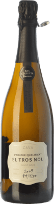 89,95 € Free Shipping   White sparkling Codorníu Finca El Tros Nou Brut Gran Reserva 2009 D.O. Cava Catalonia Spain Pinot Black Bottle 75 cl   Thousands of wine lovers trust us to get the best price guarantee, free shipping always and hassle-free shopping and returns.
