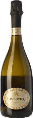 11,95 € Free Shipping   White sparkling Colli della Murgia Fondovico I.G.T. Puglia Puglia Italy Malvasía, Greco, Muscatel White, Bianco d'Alessano Bottle 75 cl.   Thousands of wine lovers trust us to get the best price guarantee, free shipping always and hassle-free shopping and returns.